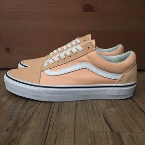 "🍑NEW🍑 ""BLEACHED APRICOT"" Old Sokol Vans"